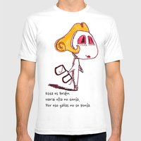 Belén Mens Fitted Tee White SMALL