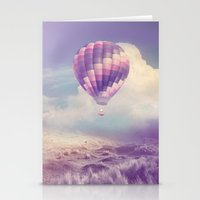 BALLOON FLIGHT Stationery Cards