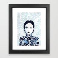 Framed Art Print featuring Innocent by EISENHART