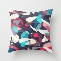 Molecular Throw Pillow