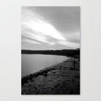 Dark River Canvas Print