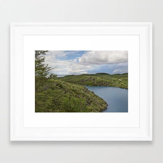 Curaçao - Santha Martha V Framed Art Print