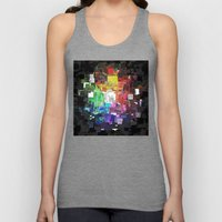 Spectral Geometric Abstract Unisex Tank Top
