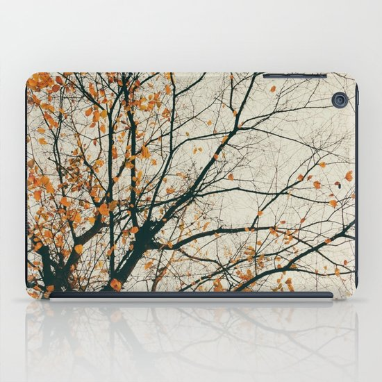 when autumn comes to it's end iPad Case