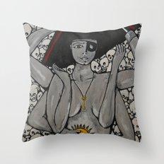 Kali Pirate Throw Pillow