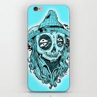 scared crow iPhone & iPod Skin