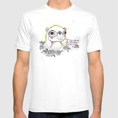 Reverie SMALL White Mens Fitted Tee