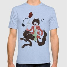 Werwolf Mens Fitted Tee Athletic Blue SMALL