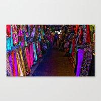 How Bazaar (Neon) Canvas Print