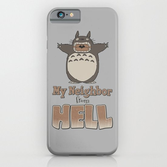 My Neighbor from Hell iPhone & iPod Case