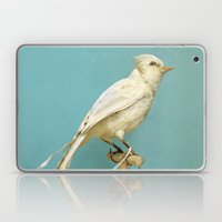 Albino Blue Jay - Square… Laptop & iPad Skin