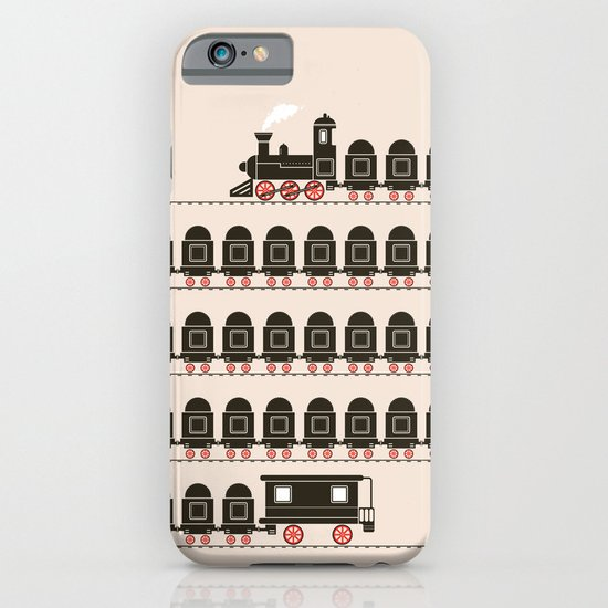 Stretched Out Locomotive  iPhone & iPod Case