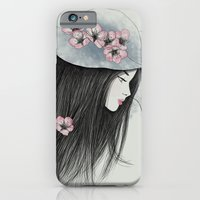 The Girl In The Garden iPhone 6 Slim Case