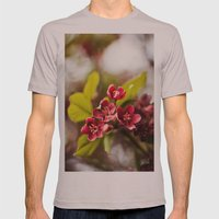 The Color Purple Mens Fitted Tee Cinder SMALL