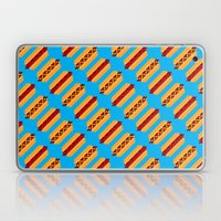 Pixel Hot Dogs Laptop & iPad Skin