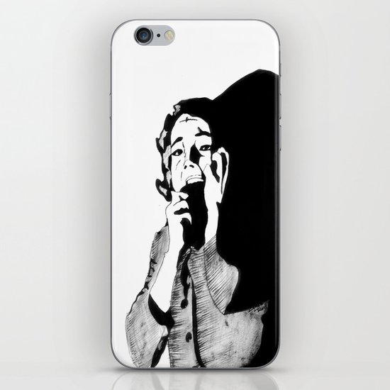 Lila Crane iPhone & iPod Skin