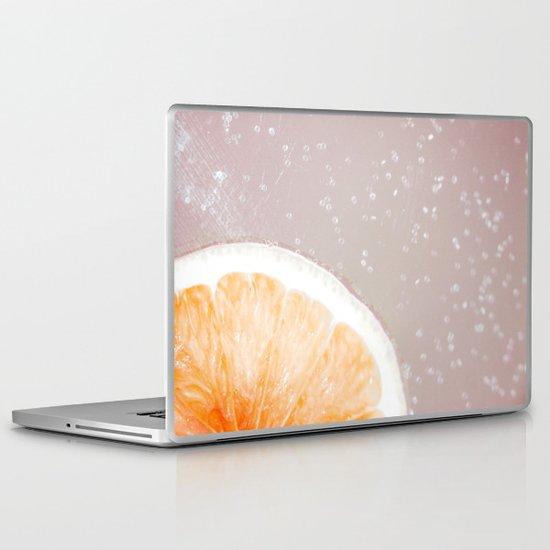 Grapefruit Citrus Laptop & iPad Skin
