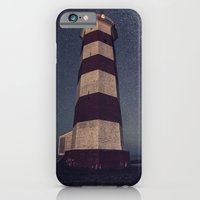 iPhone & iPod Case featuring Lighthouse in the Sky by Shaun Lowe