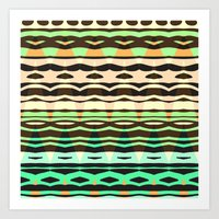 Mix #580 Art Print
