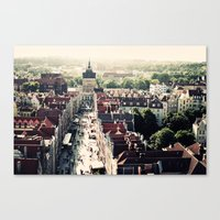 Gdansk, Poland Canvas Print