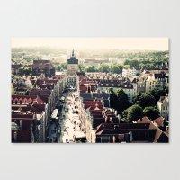 Gdansk, Poland Canvas Print