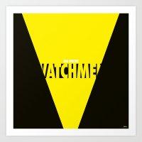Watchmen 2.0 - Silk Spec… Art Print