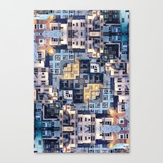 Community Of Cubicles Canvas Print