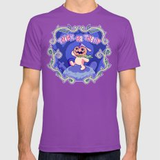 TRICK OR TREAT! Mens Fitted Tee Ultraviolet SMALL