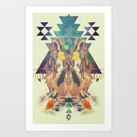 Cosmic Dance Art Print