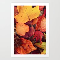 AUTUMN 2 - For Iphone Art Print