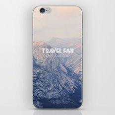 TRAVEL FAR to YOSEMITE  iPhone & iPod Skin