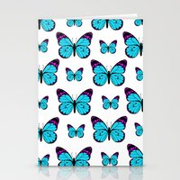 Sea Of Butterflies Stationery Cards