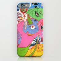 iPhone & iPod Case featuring Thunder Rats by Oleg Milshtein