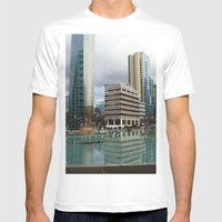 Vancouver Mens Fitted Tee White SMALL