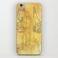 POEM OF SPACESHIP iPhone & iPod Skin