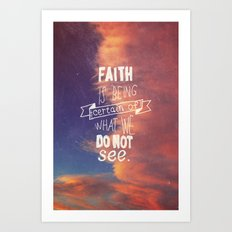 faith  Art Print