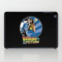 Bark To The Future iPad Case