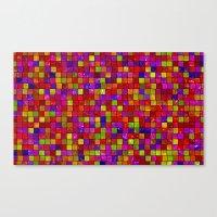 Colorful Tiles Canvas Print