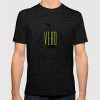 Verd Mens Fitted Tee Tri-Black SMALL