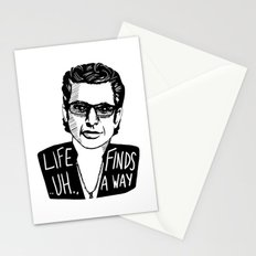 Life .. uh .. Finds a Way Stationery Cards