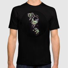 Gruesome Mens Fitted Tee Black SMALL