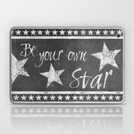 Laptop & iPad Skin featuring Be Your Own Star by LebensART
