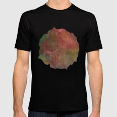 Abstract Me Mens Fitted Tee SMALL Black