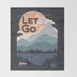 Throw Blanket - Let's Go - NDTank