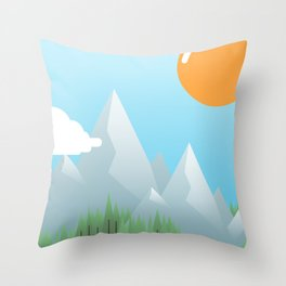 Throw Pillow - Eat the World - Moremo