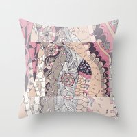 The Stems Were At Roulet… Throw Pillow