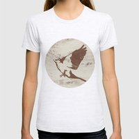 Bird Womens Fitted Tee Ash Grey SMALL