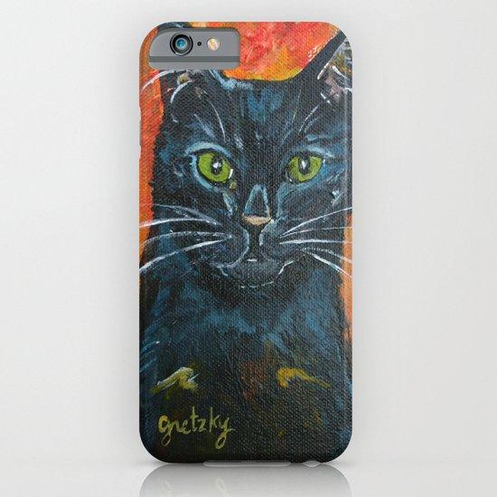 Black Cat iPhone & iPod Case
