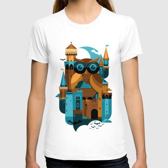 Owl Castle T-shirt