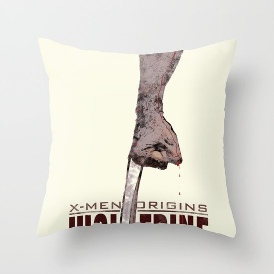 X-Men Origins: Wolverine Throw Pillow